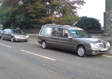 Mercedes Hearse and 6 Door Limousine